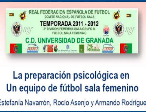 La preparación psicológica en un equipo de futbol sala femenino