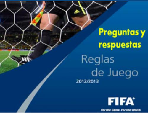 Preguntas y respuestas. Reglas de juego Fifa. Español