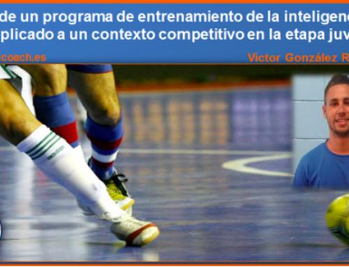 ARTÍCULOS PUBLICADOS. «Efectos de un programa de entrenamiento de la inteligencia táctica con juveniles».