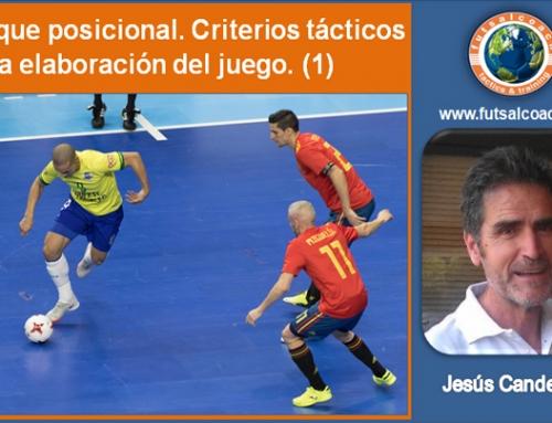 Ataque posicional. Criterios tácticos en la elaboración del juego. (1)