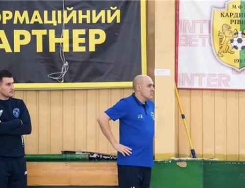 Ucrania: Javi Rodriguez, nuevo entrenador del MFC Prodexim