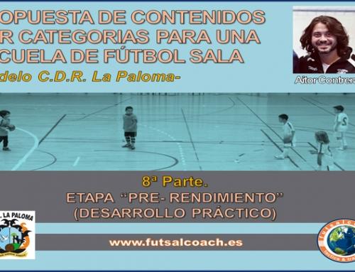 Propuesta de contenidos por categorías para una escuela de fútbol sala. Etapa Pre-rendimiento (2).