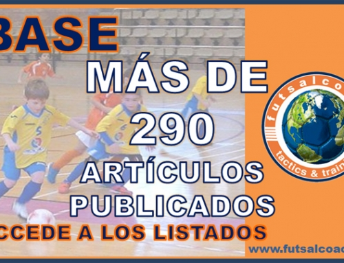 Listado de artículos relacionados con el entrenamiento en la base en el fútbol sala