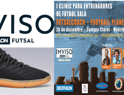 IMVISO será el sponsor técnico del I Clinic Futsalcoach – Football Planet Madrid 2019.