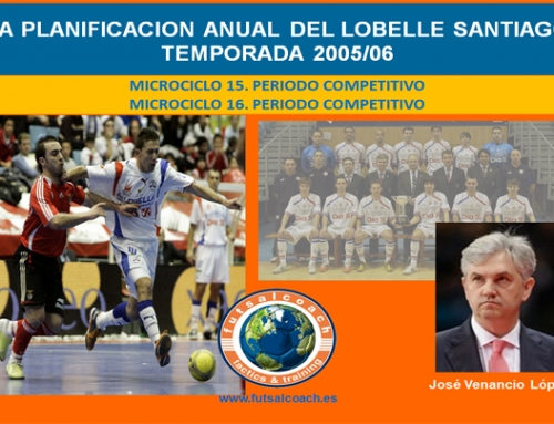 Planificación Lobelle Santiago Futsal. Temporada 2005/06. Microciclos 15 y 16