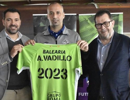 Vadillo renueva con el Palma hasta 2023