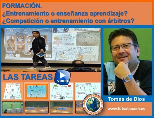 FORMACIÓN. ¿Entrenamiento o enseñanza aprendizaje? Tareas 1 y 2