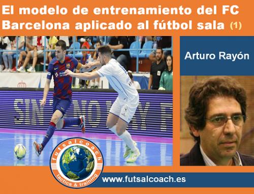 El modelo de entrenamiento del FC Barcelona aplicado al fútbol sala (1)