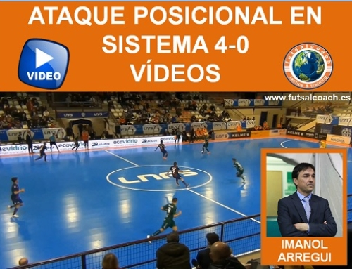Ataque posicional en sistema 4-0. Vídeos