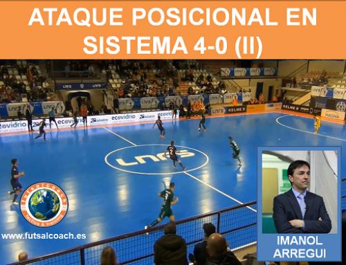 Ataque posicional en sistema 4-0 (2)