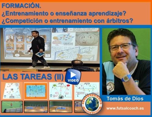 FORMACIÓN. ¿Entrenamiento o enseñanza aprendizaje? Tareas 3 y 4