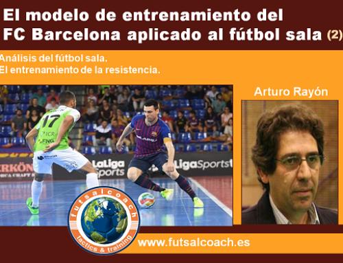 El modelo de entrenamiento del FC Barcelona aplicado al fútbol sala (2)
