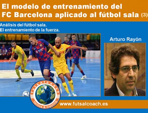 El modelo de entrenamiento del FC Barcelona aplicado al fútbol sala (3)