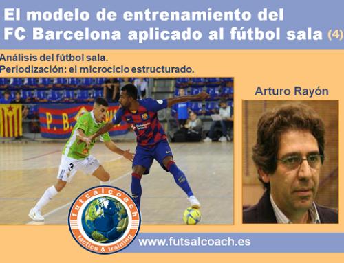 El modelo de entrenamiento del FC Barcelona aplicado al fútbol sala (4)