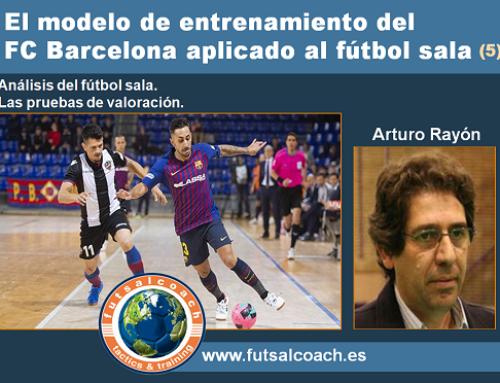 El modelo de entrenamiento del FC Barcelona aplicado al fútbol sala (5)