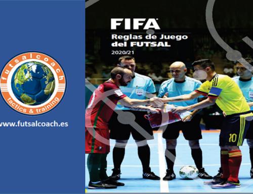 Reglas de juego de Fútbol Sala FIFA 2020/21. Español
