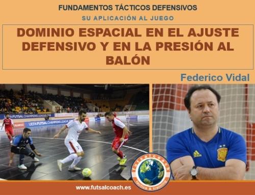 Aplicación de los fundamentos tácticos individuales defensivos. DOMINIO ESPACIAL (teoría)