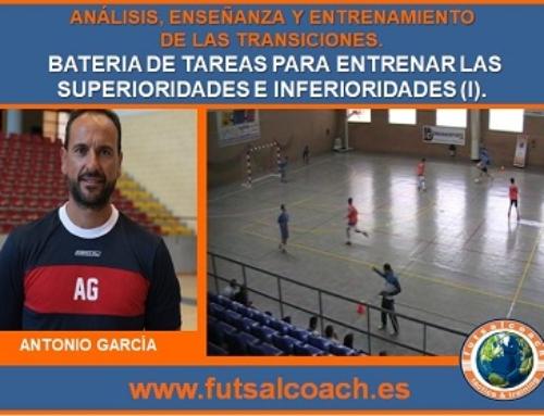 CURSO MONOGRÁFICO. Análisis, enseñanza y entrenamiento de las transiciones en fútbol sala. Capítulo 3 (propuestas prácticas)