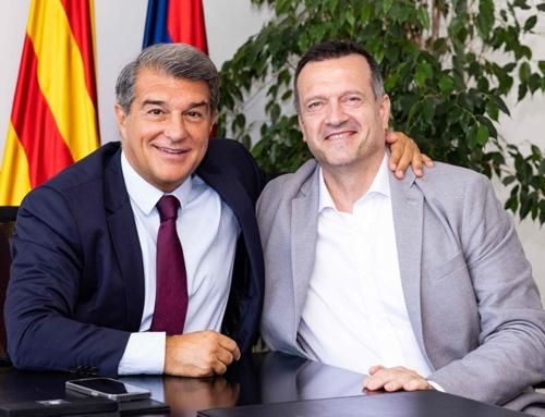 Jesús Velasco, nuevo entrenador del Barça hasta 2023