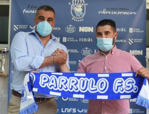 Óscar Vigo es el nuevo entrenador de O Parrulo Ferrol